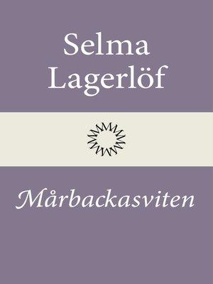 cover image of Mårbackasviten