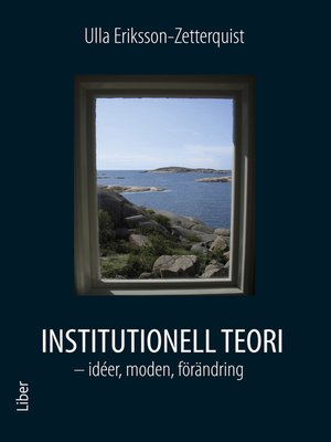 cover image of Institutionell teori