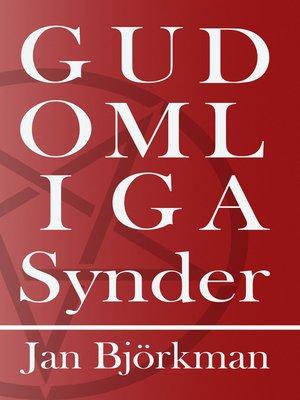 cover image of Gudomliga Synder