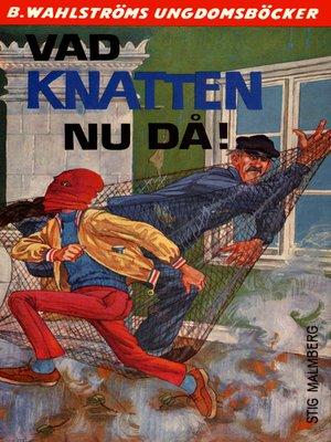 cover image of Knatten 10--Vad Knatten nu då!