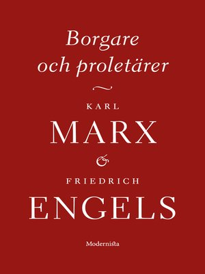 cover image of Borgare och proletärer