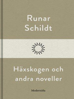 cover image of Häxskogen och andra noveller