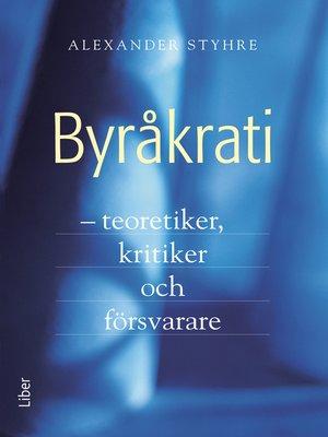 cover image of Byråkrati
