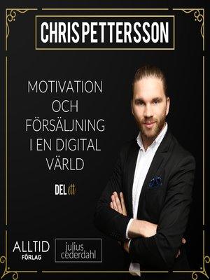 cover image of Motivation och försäljning i en digital värld