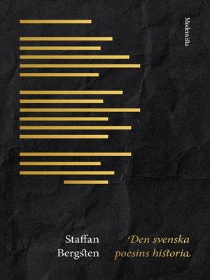 cover image of Den svenska poesins historia