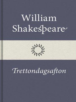 cover image of Trettondagsafton