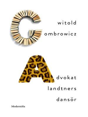 cover image of Advokat Landtners dansör