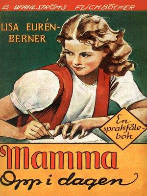 cover image of Fröken Sprakfåle 12--Mamma opp i dagen