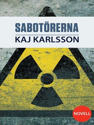 cover image of Sabotörerna