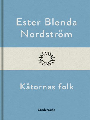 cover image of Kåtornas folk