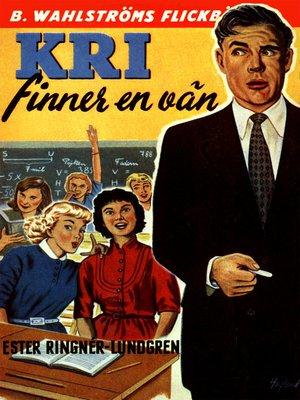 cover image of Kri 1--Kri finner en vän