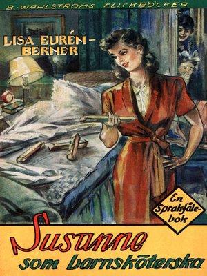 cover image of Fröken Sprakfåle 16--Susanne som barnsköterska