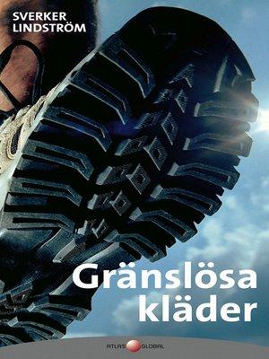 cover image of Gränslösa kläder