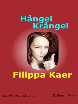 cover image of Hångel krångel