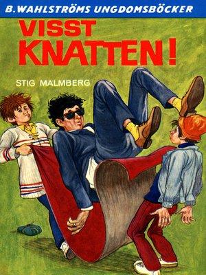 cover image of Knatten 9--Visst Knatten!