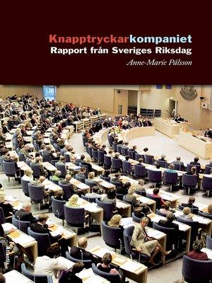cover image of Knapptryckarkompaniet