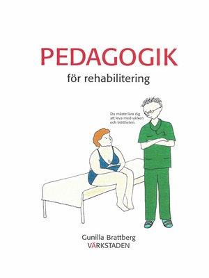cover image of Pedagogik för rehabilitering