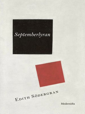 cover image of Septemberlyran