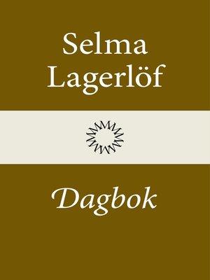 cover image of Dagbok (Mårbacka III)
