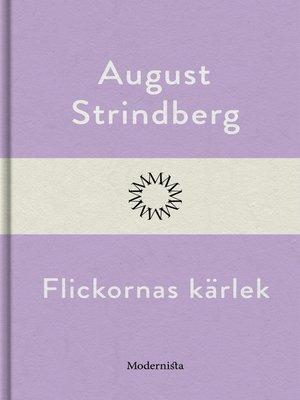 cover image of Flickornas kärlek