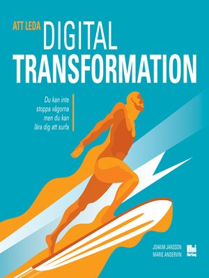 cover image of Att leda digital transformation