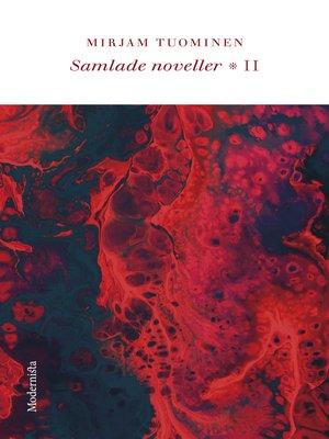 cover image of Samlade noveller II