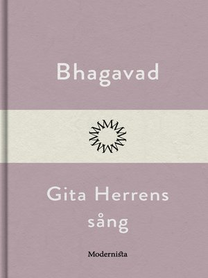 cover image of Bhagavad Gita--Herrens sång