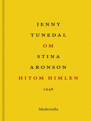 cover image of Om Hitom himlen av Stina Aronson