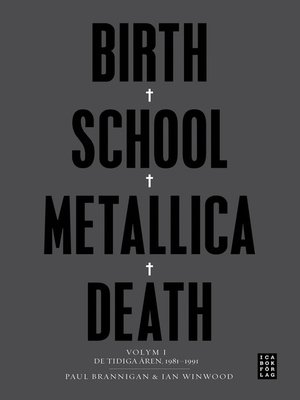 cover image of Birth School Metallica Death Volume 1