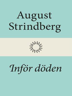 cover image of Inför döden