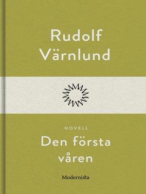 cover image of Den första våren