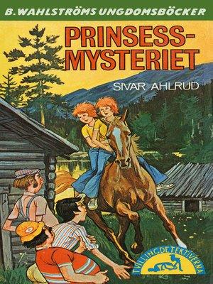 cover image of Tvillingdetektiverna 45--Prinsess-mysteriet