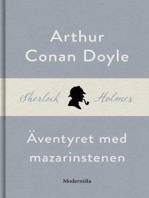 cover image of Äventyret med mazarinstenen (En Sherlock Holmes-novell)