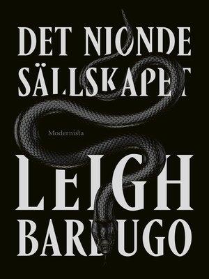 cover image of Det nionde sällskapet