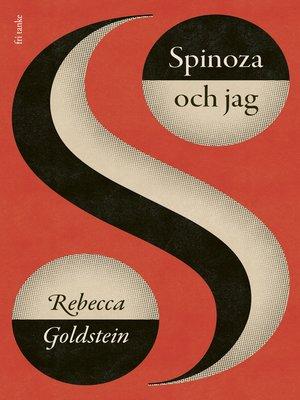cover image of Spinoza och jag