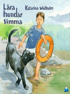 cover image of Lära hundar simma