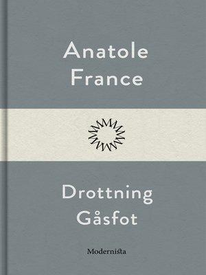 cover image of Drottning Gåsfot