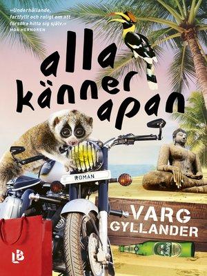 cover image of Alla känner apan