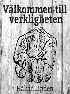 cover image of Välkommen till verkligheten