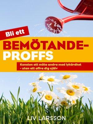 cover image of Bemötandeproffs