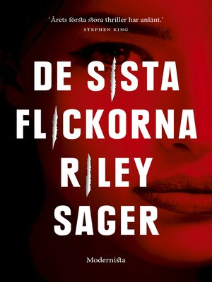 cover image of De sista flickorna