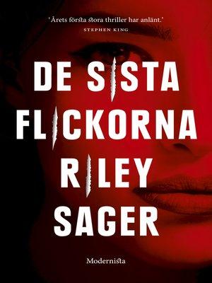 cover image of De sista flickorna