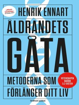 cover image of Åldrandets gåta