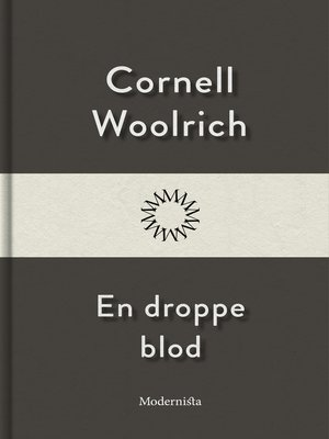 cover image of En droppe blod