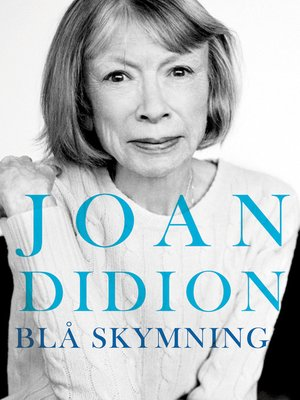 cover image of Blå skymning