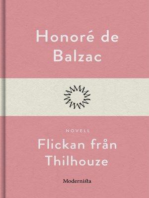 cover image of Flickan från Thilhouze