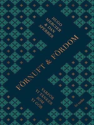 cover image of Förnuft och fördom