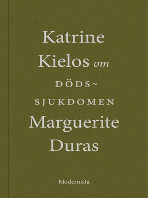 cover image of Om Dödssjukdomen av Marguerite Duras