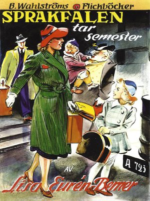 cover image of Fröken Sprakfåle 10--Sprakfålen tar semester