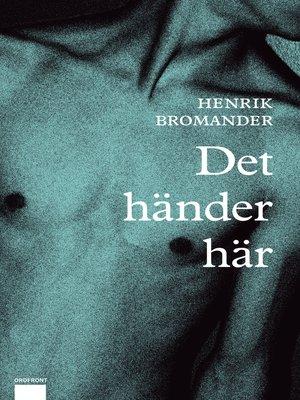 cover image of Det händer här